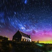 Startrails Wallpaper