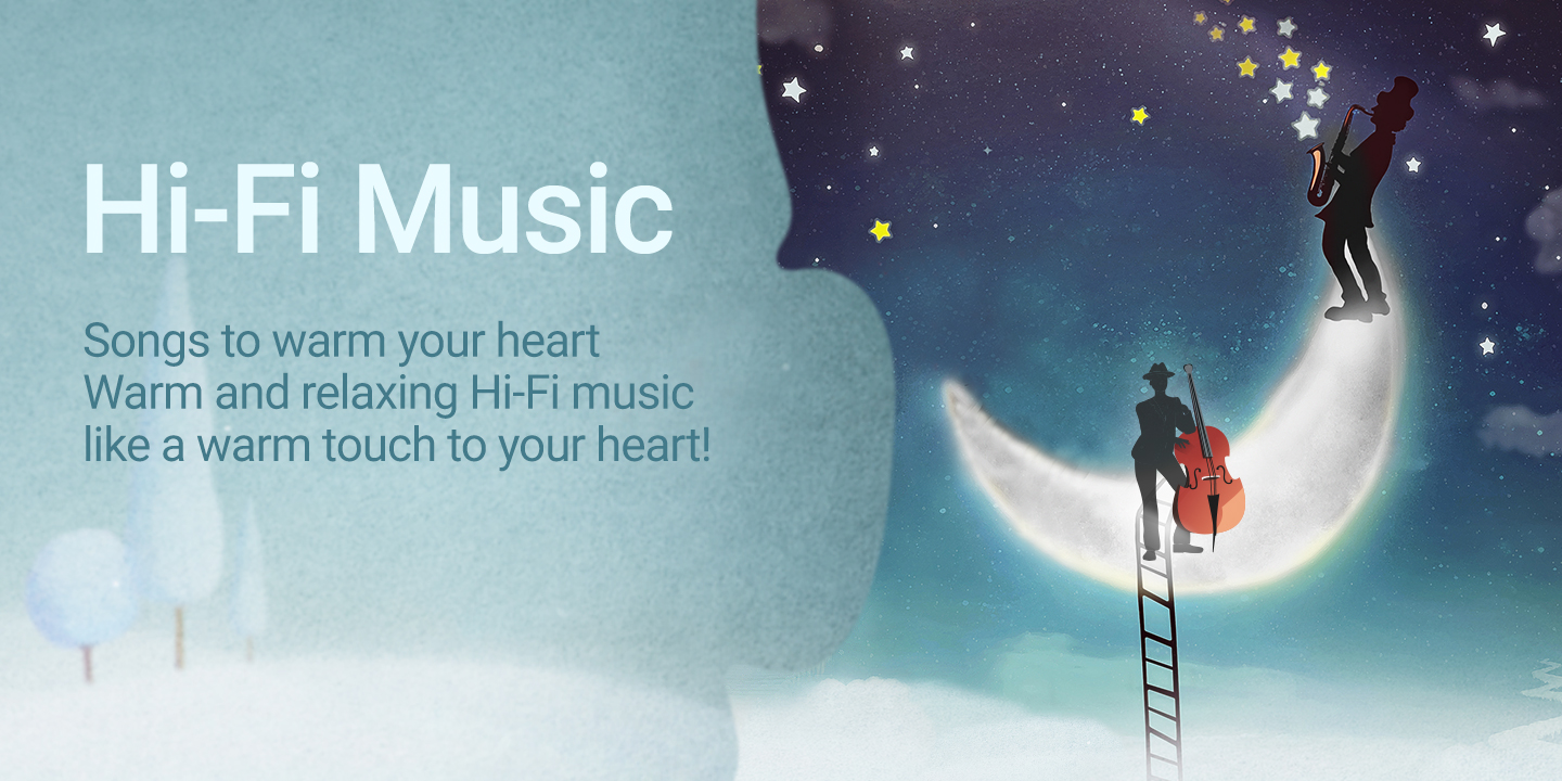 [Songs to warm your heart. Warm and relaxing Hi-Fi music like a warm touch to your heart!]